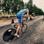 Draft legal pro racing at 2019 Beijing International Triathlon