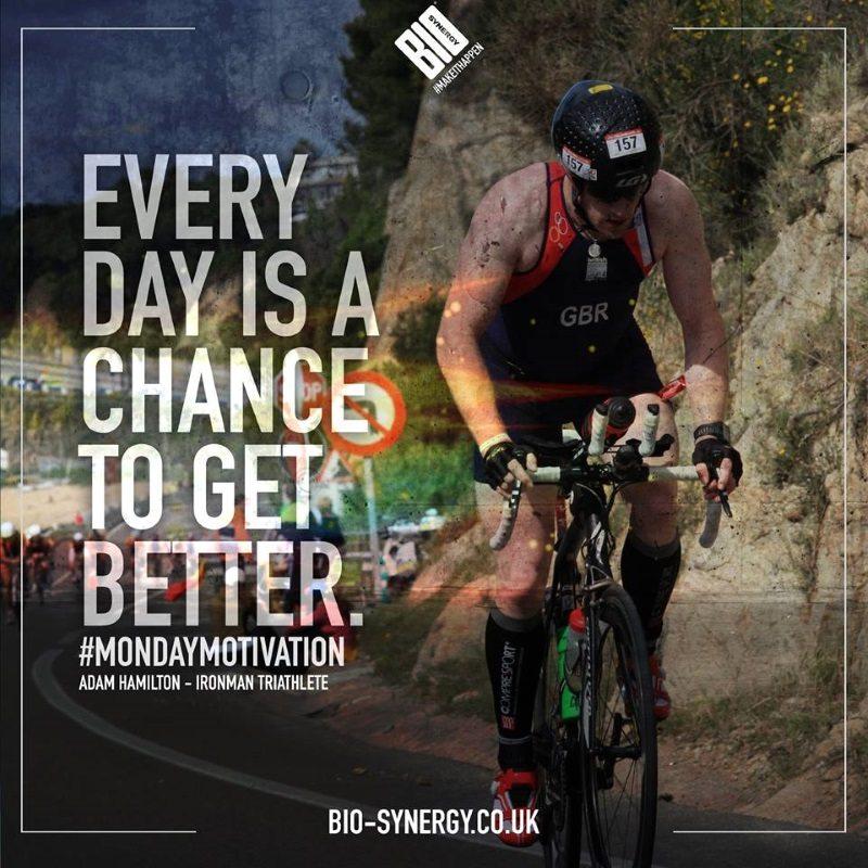 Bio-Synergy - Adam Hamilton IRONMAN triathlete