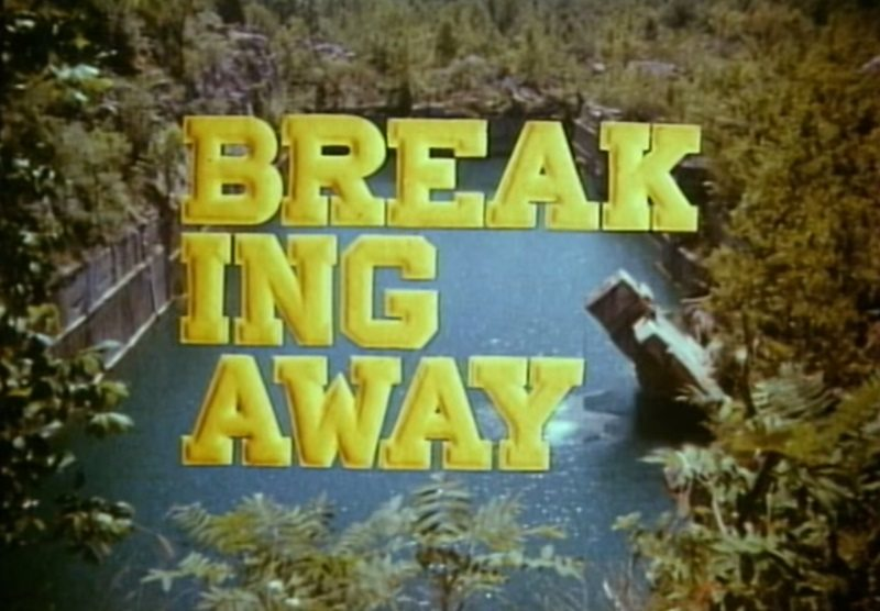 Breaking Away movie trailer still