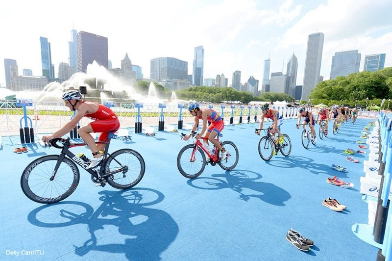 World Triathlon Chicago - photo credit Delly Carr - ITU