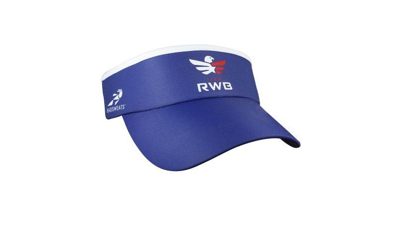 Headsweats Team RWB - Sport Navy visor