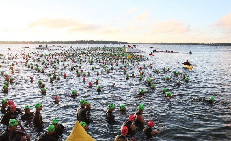 2013 IRONMAN wisconsin swim