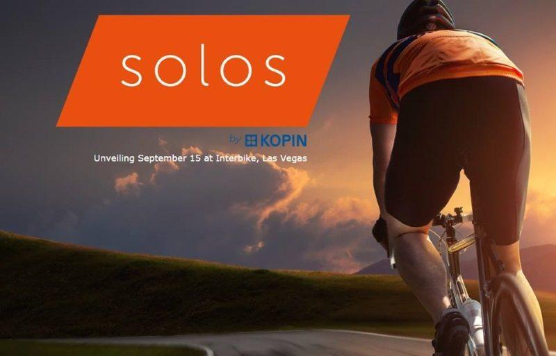 Solus unveiling at Interbike