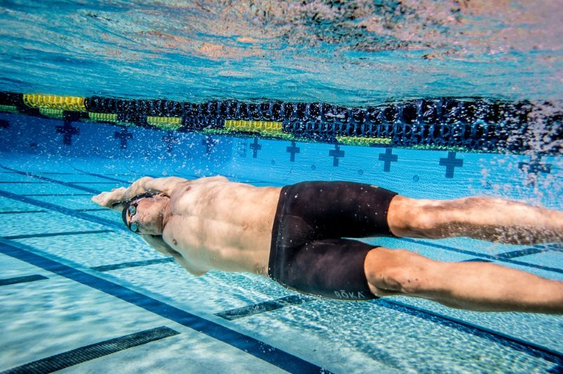 ROKA swimwear - Javier Gomez swimming