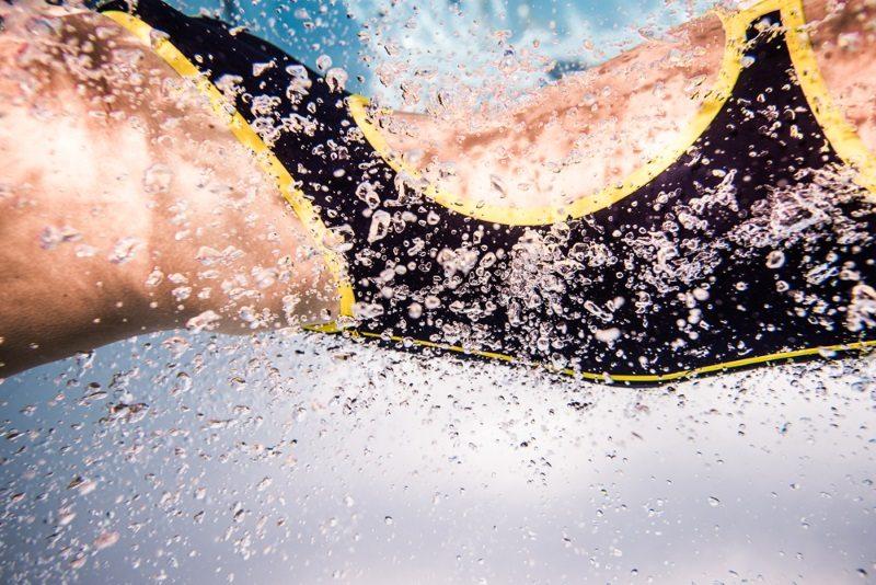 ROKA swimwear - Linsey Corbin swimming