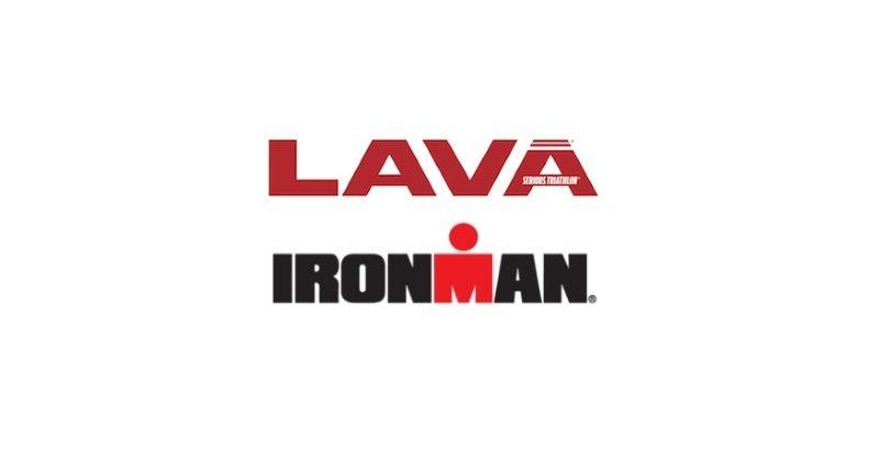LAVA magazine and IRONMAN logos