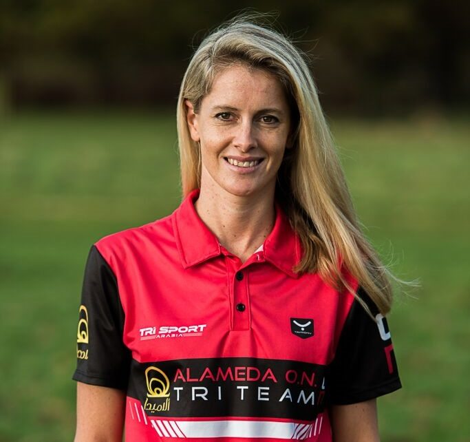 South African Gillian Sanders joins growing Alameda o.n. Triathlon Team