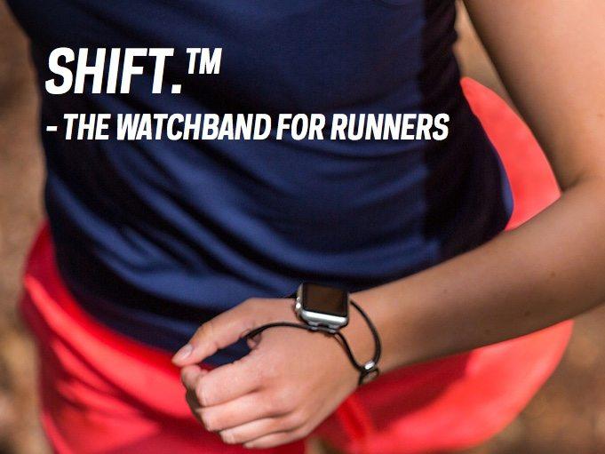 EdgeGear SHIFT watch band for runners