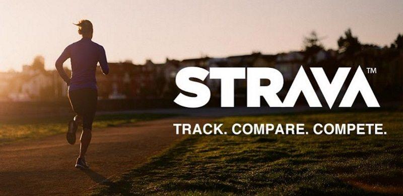 Strava - track, compare, compete - banner