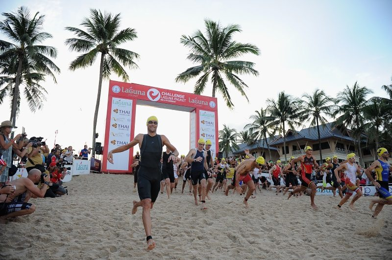 Challenge Half Laguna on November 30, 2014 in Phuket, Thailand. Photo credit - Matt Roberts - Getty Images