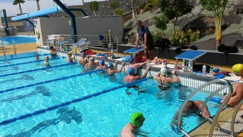 Tenerife Swim Faster Camp 25m Pool with Dan Bullock
