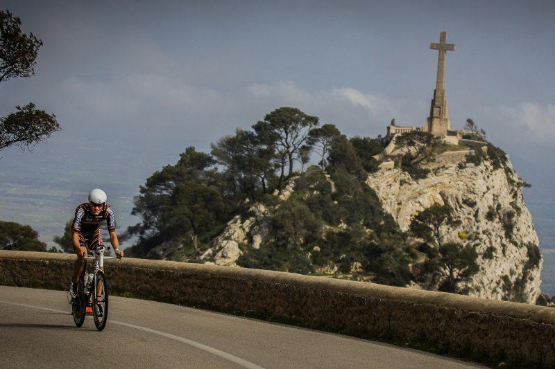 Triathlon de Portocolom - Sant Salvador climb
