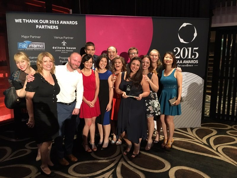 ATEC expo scoops award