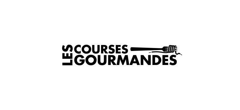 Les Courses Gourmandes logo