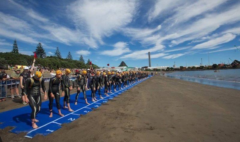 Port Taranaki ITU World Cup - photo credit Tri NZ