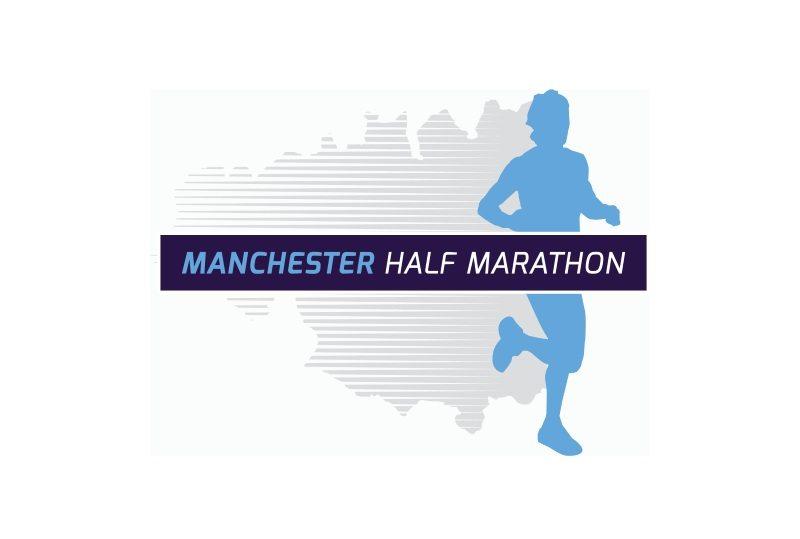 Manchester Half Marathon MCR logo