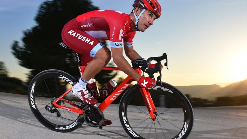 SRAM partners with Katusha in 2016 - Rodriguez on bike