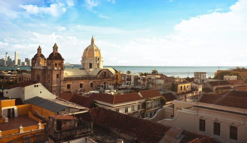 Cartagena cityscape - photo WTC-IRONMAN