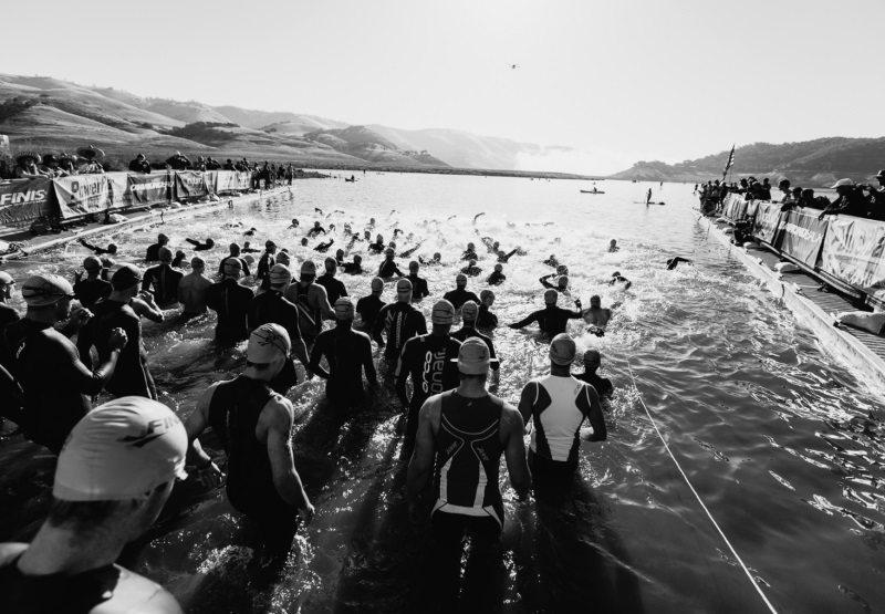 Wildflower Triathlon swim start