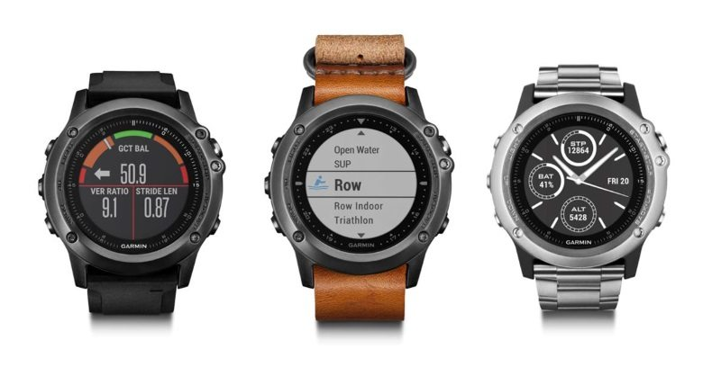 Garmin fenix 3 multisport watch range