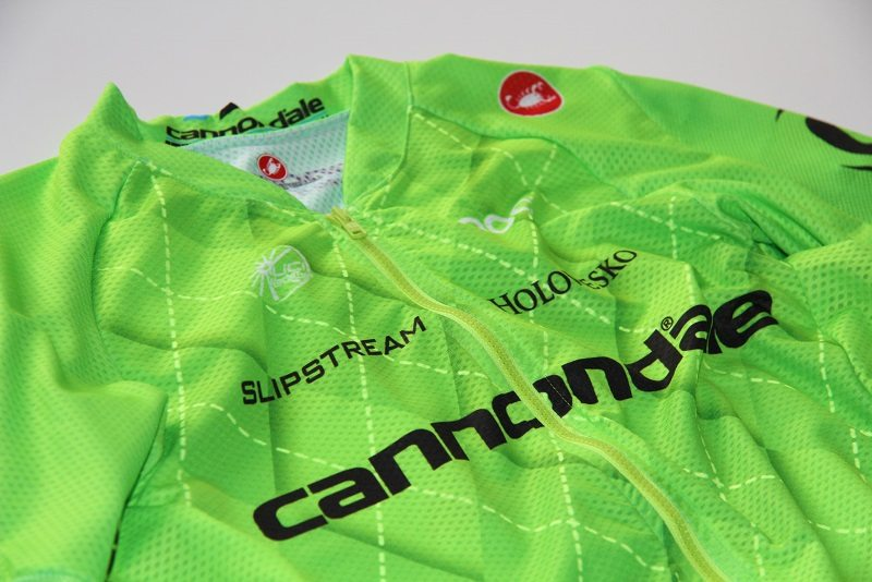 Slipstream Sports and Castelli present new green argyle jersey design for the Cannondale Pro Cycling Team 2