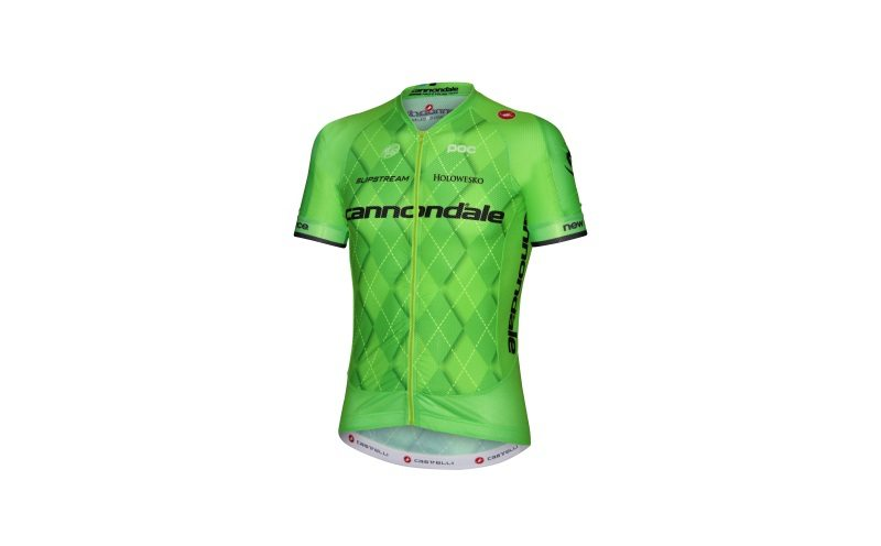 Slipstream Sports and Castelli present new green argyle jersey design for  the Cannondale Pro Cycling Team e5f6d0ea4