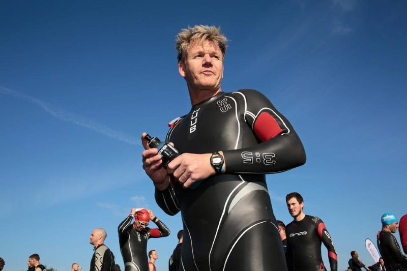 Gordon Ramsay wears Huub