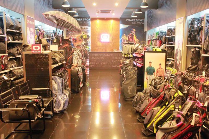 Inside OGIO Jakarta store in Indonesia
