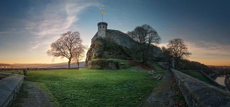 Citadel of Namur view at new XTERRA Belgium - photo credit XTERRA