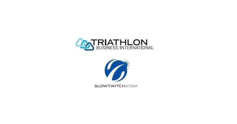 Triathlon Business International TBI and Slowtwitch.com logos
