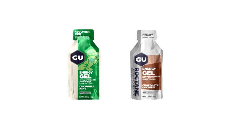 GU adds Cucumber Mint Energy Gel and Roctane Chocolate Coconut