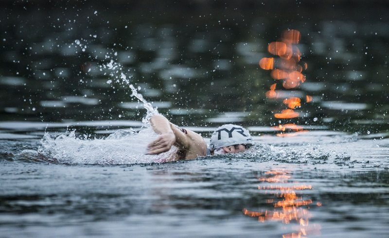 IRONMAN Chattanooga - swim