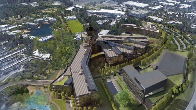 Expansion plans for Nike World Headquarters, near Beaverton, Oregon