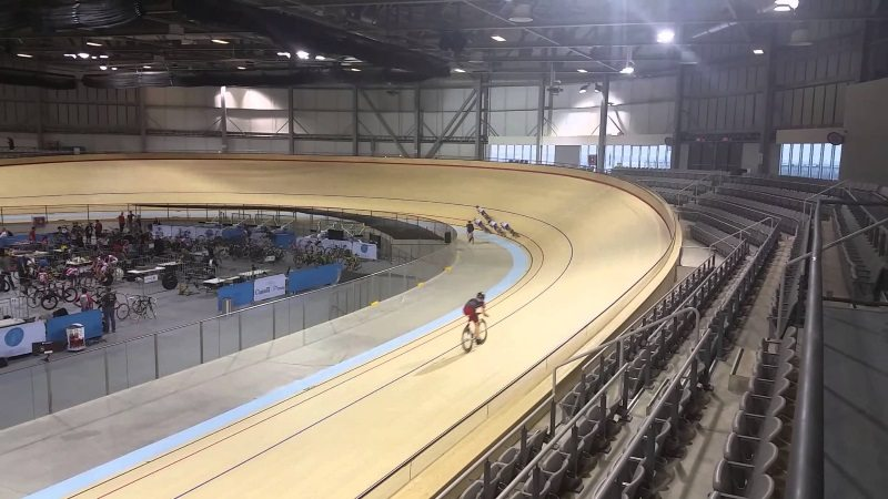 Mattamy National Cycling Centre in Milton, Ontario, Canada
