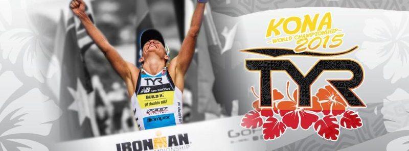 TYR celebrates Mirinda Carfrae Kona 2015 win