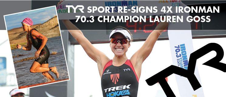 TYR signs Lauren Goss