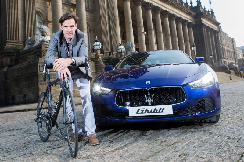 David Millar - Maserati - photo credit Alex Whitehead
