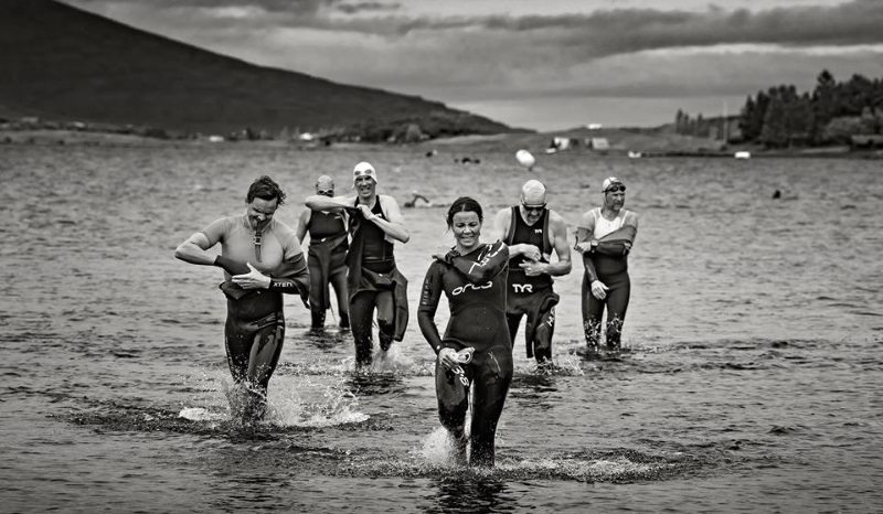 Open water swim in Iceland - setting scene for new Challenge Iceland