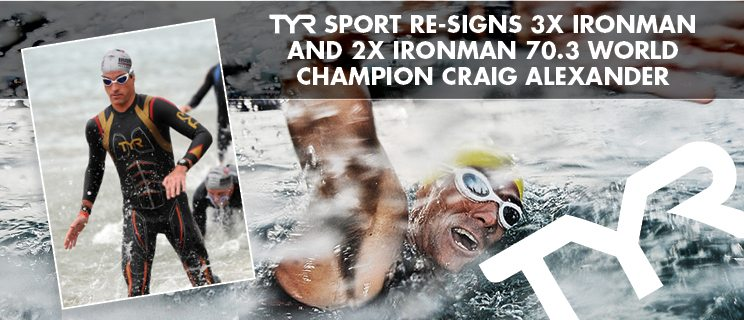 TYR re-signs Craig Alexander