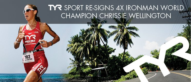 TYR continues sponsorship of 4x IRONMAN World Champion Chrissie Wellington