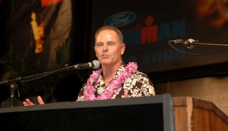 Mike Reilly - Voice of IRONMAN - photo credit IRONMAN-WTC