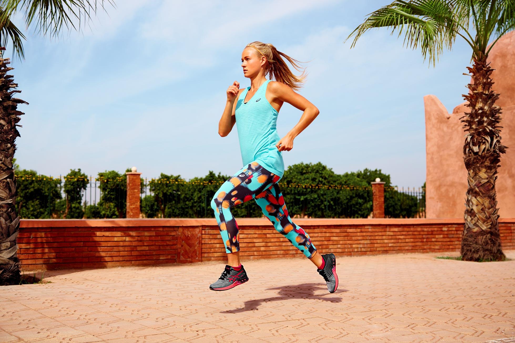 ASICS female runner