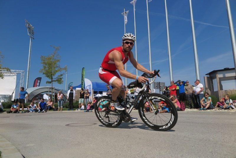 triathlon action at x-bionic sphere