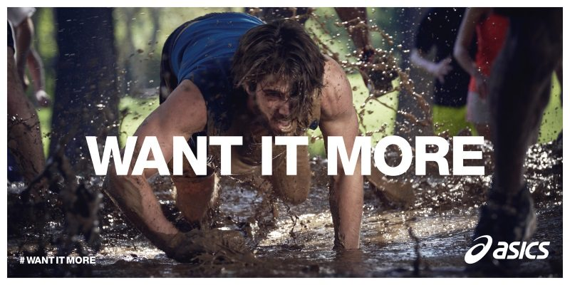 ASICS WANT IT MORE banner 2