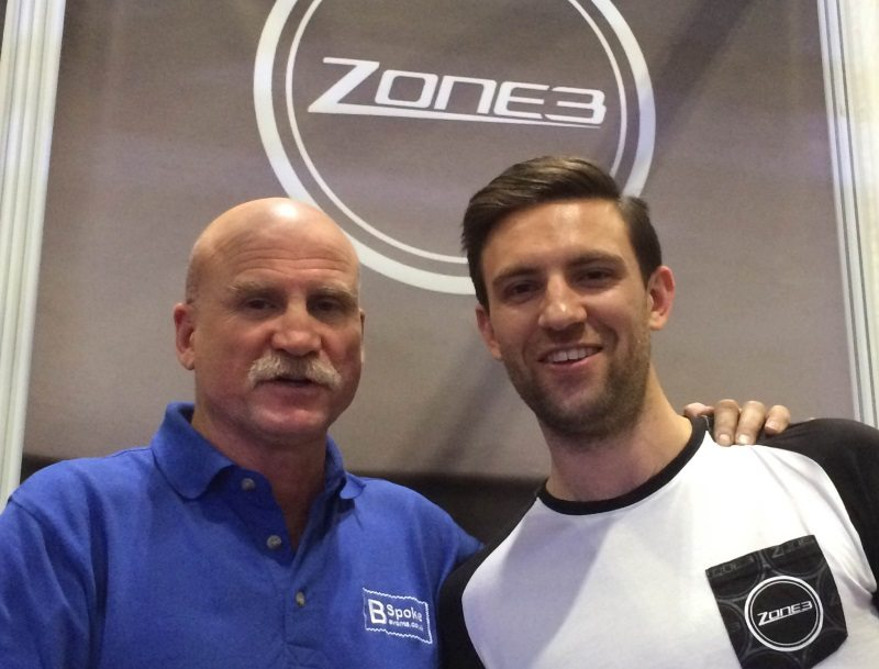 John Lunt of BSpoke Events and James Lock of Zone3