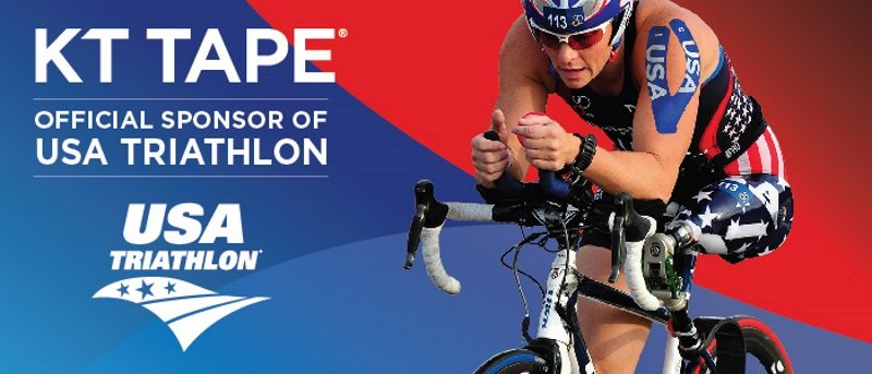 KT Tape wraps up deal as exclusive kinesiology tape of USA Triathlon