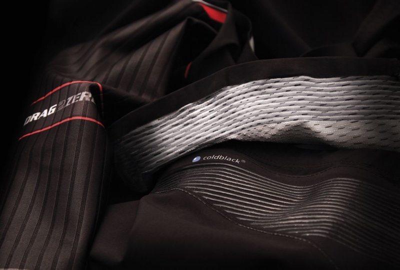 Endura QDC Drag2Zero triathlon suit - Short Jersey Gripper - coldblack