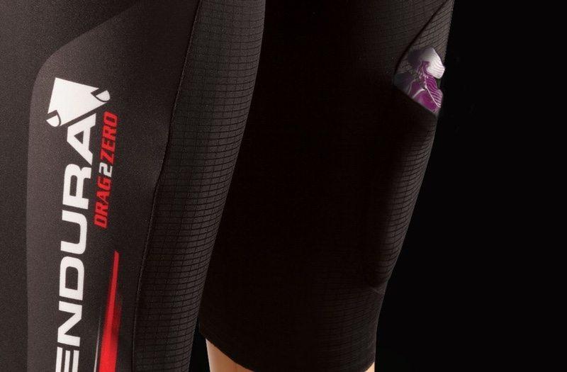 Endura QDC Drag2Zero triathlon suit detail - Gel Pocket