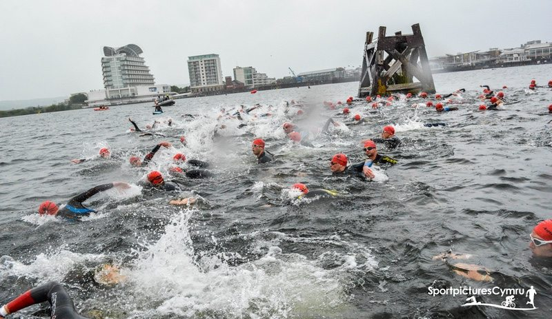 Cardiff Triathlon - Always Aim High Events - photo Sport Pictures Cymru