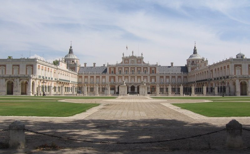 Royal Palace of Aranjuez - setting for Ocean Lava Aranjuez